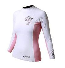Pink XL womens Bodyglove Rash Vest long sleeved UV 40 40 inch chest size 14-16