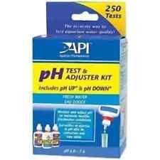 Test Ph Api Deluxe Kit incluye ph hacia arriba, hacia abajo Tropical De Agua Dulce Peces de Acuario
