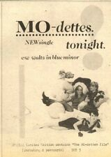 4/7/81PN31 MO-DETTES : TONIGHT SINGLE ADVERT 7X5