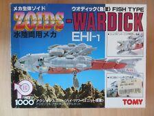 Vintage Tomy WARDICK Zoids HEI New in box