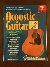 Watch & Learn Acoustic Guitar Book 2 with Cd New