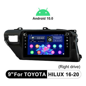 For 2016-2020 Toyota Hilux Android 10.0 Audio System Upgrade Car Stereo DSP FM
