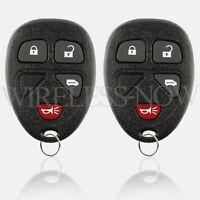 2 Car Key Fob Keyless Remote 4B For 2005 2006 2007 2008 2009 Chevrolet Uplander