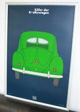 VW Käfer Original Ausstellung  Poster 1997 selten