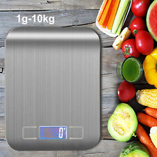 More details for 10kg digital kitchen scales electronic lcd balance scale food weight postal scal