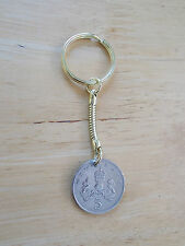 30th Birthday Anniversary Key Ring 1988 Coin Gift( In 2018)  New 5 Pence