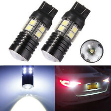 2Pcs T20 W21/5W 7443 Pure White 12 SMD 5050 Car LED Light Reverse Lamp Bulb