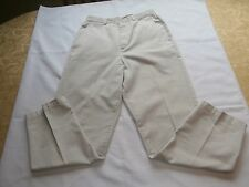 DOCKERS Women's Khaki Cotton Metro Pants Trousers Size 10 S 10S petite 27 inseam