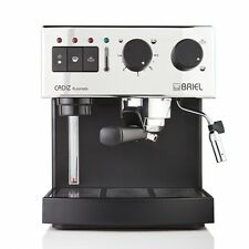 BRIEL ESPRESSO CAPPUCINO STEAM COFFEE MACHINE MADE IN PORTUGAL ES62A 110 VOLTS