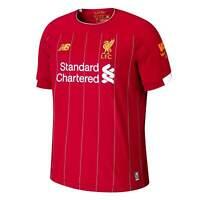 New Balance Mens Liverpool Home Shirt 2019 2020 Domestic Short Sleeve Crew Neck
