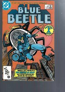 BLUE BEETLE 1  - 1987    SERIES - DC COMICS