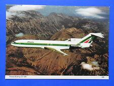 ALITALIA BOEING 727-200 I-DIRI POSTCARD