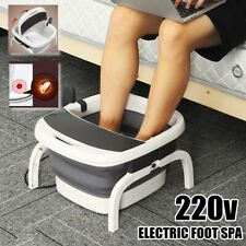 FOOT SPA MASSAGER PEDICURE FOOTSPA VIBRATING WET BATH MASSAGE SOOTHING   UK AU1