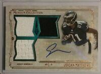 2014 Museum Collection Signature Swatches JORDAN MATTHEWS Autograph Rookie 30/50