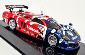 Ixo 1/43 - Saleen S7R #54 Le Mans 2007 L. Groppi Diecast Scale Model Car
