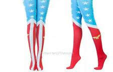 """DC Comics JLA Licensed WONDER WOMAN """"Suit Up"""" Tights COSTUME Prop COSPLAY O/S"""
