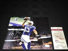 TY HILTON INDIANAPOLIS COLTS SIGNED 8X10 PHOTO JSA WIT COA WP114101 FREE S&H!