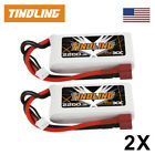 2x 2200mAh 2S 7.4V 30C Lipo Battery Deans Plug RC Car Airplane Helicopter Boat