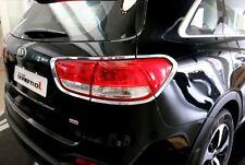 ABS Chrome Tail light Cover Trim For KIA SORENTO L 2015 2016 2017