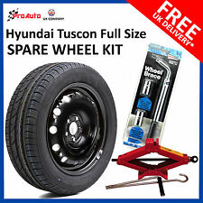 "HYUNDAI TUCSON  2015-2019 FULL SIZE STEEL SPARE WHEEL 16""  AND TYRE + TOOL KIT"