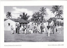 """~Post Card~""""WW II Soldiers/Relax-Coral Gables Country Club"""" /Golf In Fl./  (#35)"""