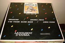 "V/A ROCK A EIVISSA 12"" LP SPAIN SYNTH POP ROCKABILLY SAMPLER PROM0 ONLY"