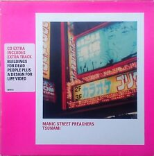 Manic Street Preachers - Tsunami CD Single (CD 1999) + Buildings For Dead People