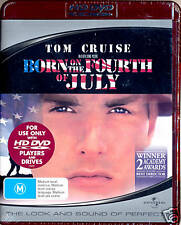 BORN ON THE FOURTH OF JULY Tom Cruise  HD DVD