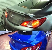 Rear Wing Spoiler Black Painted Parts For Hyundai Genesis Coupe 2009-2015