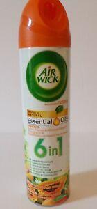 Air Wick Aerosol Air Freshener 8 oz Aerosol Spray 6 in 1 essential oil.