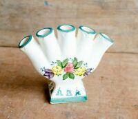 Vintage Multi spot Bud Vase Japan