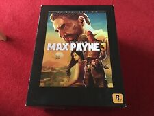 Max Payne 3: Special Edition (Xbox 360) Game Still Sealed Please Read Very Rare