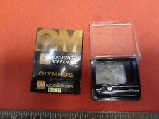 OLYMPUS OM Focusing Screen No 1-12 for  OM-1 OM-1n, OM-2, OM-3, OM-4 DC01K476