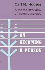 On Becoming a Person by Carl Rogers Paperback Book