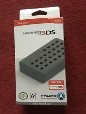 Nintendo Official Power A Flex Soft No Slip Secure Case For 3DS  Grip Black