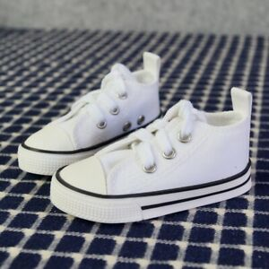 """1/3TH White Canvas Sneakers Shoes Boots For Male 1/3 24"""" BJD SD AOD AS DOLL G&D"""