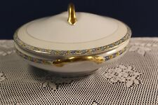 Vintage Noritake Nippon Round Casserole Vegetable Dish with Lid circa 1924