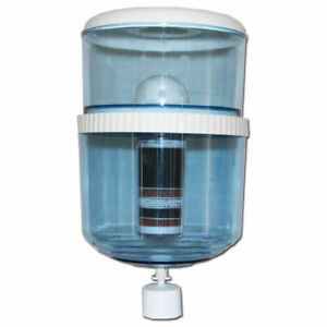 Replacement Water Cooler Bottle Inc 8 Stage KDF Filter Alkaline Mineral Ceramic