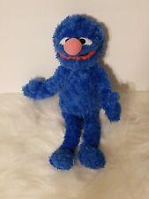 "GUND Sesame Street NICE SOFT BLUE GROVER 14"" Plush STUFFED ANIMAL"