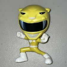 2018 Yellow Power Rangers Bobble Head Burger King Meal Toy 25th Anniversary