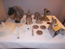 New listing Vintage KitchenAid Hobart Disc Slicing Attachment - Meat Grinder - Mixer Attach