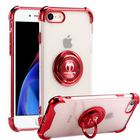 For iPhone X XR XS 7 8 Plus 11 Pro MAX 12 Mini Shockproof Ring Holder Case Cover