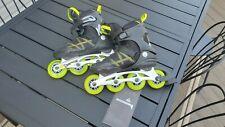 K2 Men's F.I.T 84 Pro Recreational Fitness Inline Skates (Black/Lime) Size 9 Us