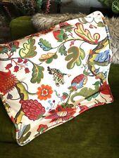 Pottery Barn Serafina Floral Cotton Euro Pillow Sham Artsy Boho Qty (2)