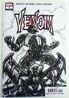 Marvel VENOM (2018) #1 5th Print Sketch B&W Variant NM Ships FREE!