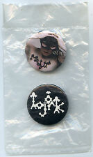 Bjork Button Pinback Badge 2006 set of two New Sealed Björk