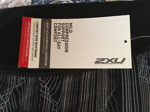 2xu womens compression tights Large