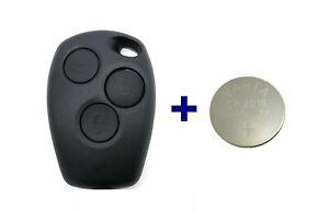 3Tasten Ersatz Schlüssel für Dacia für Renault für SMART 453 Forfour + Batterie