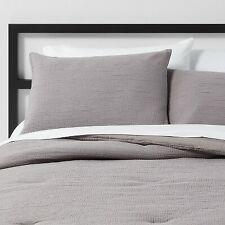King Micro Texture Comforter & Sham Set Stone Gray - Project 62 + Nate Berkus