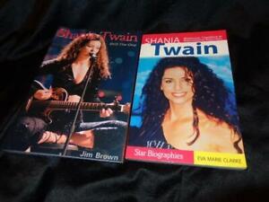 Shania Twain *'00/'05 Unauthorized Biography Books*Jim Brown/Eva Marie Clarke!